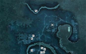 Местоположение ремесленников в поместье Дэвенпорт в Assassin's Creed 3
