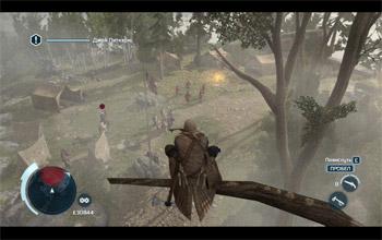 Убийство Питкерна в воздухе в Assassin's Creed 3