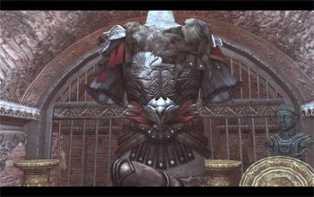 Доспехи Брута из сокровищницы Ромула в Assassin's Creed: Brotherhood