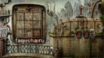 Решение головоломки с моста к игровым автоматам в Machinarium