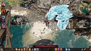 Divinity: Original Sin 2: вход в Таинственную пещеру с броней из сета Бракка на Гулких топях
