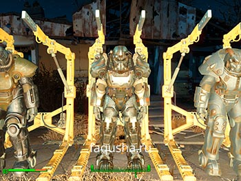 Силовая броня T-60 Fallout 4