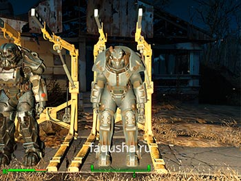 Силовая броня X-01 Fallout 4