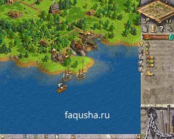 Строительство флота и подготовка войск в первой главе 'Нова Фора' в Anno 1503