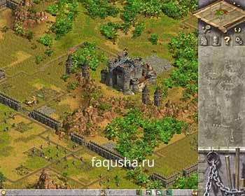 Захват крепости в восьмой главе 'Сопротивление' в Anno 1503