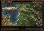 Карта с местоположением алтаря набожности в Гроте в Grim Dawn