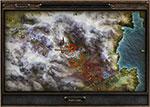 Карта с местоположением алтаря набожности в Деревне Темной долины в Grim Dawn