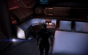 Фотография Тали в каюте капитана в Mass Effect 3