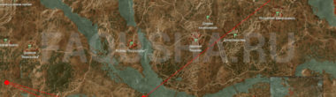Карта задания 'Дела семейные' в 'Ведьмаке 3'