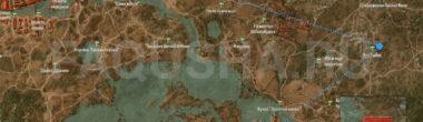 Карта заданий 'Услуга для Радовида' и 'Враг народа' в 'Ведьмаке 3'