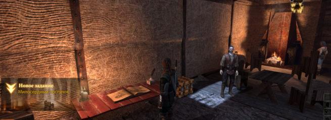 """Прохождение задания """"Милосердный поступок"""" в Dragon Age 2"""