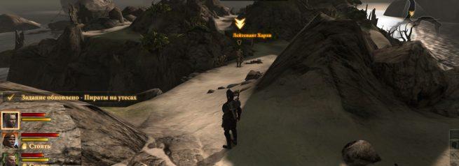"""Прохождение задания """"Пираты на утесах"""" в Dragon Age 2"""