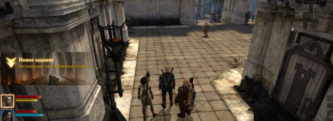 """Прохождение задания """"Экспедиция на Глубинные тропы"""" в Dragon Age 2"""