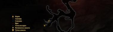"""Карта задания """"Так, как должно"""" в Dragon Age 2"""