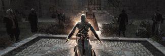 Assassin's Creed: бой с тамплиерами Аль-Муалима в райском саду Масиафа в седьмом блоке памяти