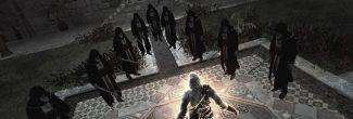 Assassin's Creed: финальное сражение с Аль-Муалимом в райском саду Масиафа в седьмом блоке памяти