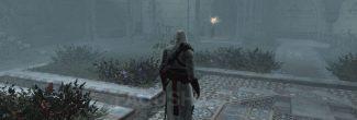 Assassin's Creed: место появления Аль-Муалима с Яблоком Эдема в райском саду Масиафа в седьмом блоке памяти