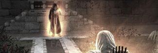 Assassin's Creed: активация силы Яблока Эдема Аль-Муалимом в Масиафе в седьмом блоке памяти