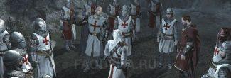 Assassin's Creed: встреча с Робером де Сабле и Ричардом в Арсуфе в шестом блоке памяти