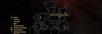"""Карта задания """"Выгода и убыток"""" в Dragon Age 2"""