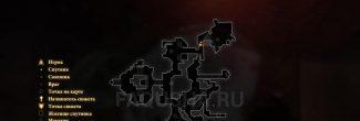 """Карта с местом появления Антиванских наемных убийц в Нижнем городе в задании """"Скачки за Скетчем"""" в Dragon Age 2"""