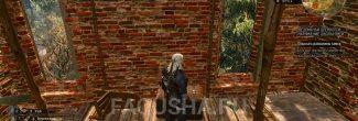Сундук с чертежом стального меча в руинах замка у Сожженой деревни в задании 'Ведьмачьи древности: Снаряжение школы Змеи' в 'Ведьмаке 3'