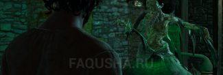 """Встреча Грахама и Анабелль в лаборатории Александэра в Коломнице в задании """"Мышиная башня"""" в """"Ведьмаке 3"""""""