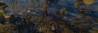 """Тело Хродеберта и личные вещи солдат в задании """"Узы крови"""" в """"Ведьмаке 3"""""""