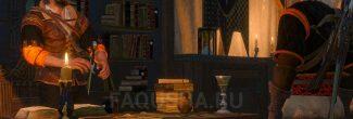 """Беседа с квартирмейстером Эггебрахтом о пропавшем патруле в задании """"Пропавший патруль"""" в """"Ведьмаке 3"""""""
