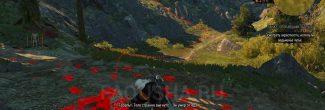 """Тело убитого солдата в лесу в задании """"Пропавший патруль"""" в """"Ведьмаке 3"""""""
