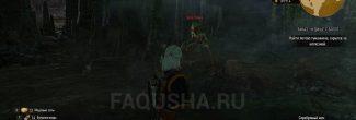 """Туманник Ignis Fatuus из Кривоуховых топей в задании """"Чудище с болот"""" в """"Ведьмаке 3"""""""