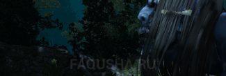"""Встреча с Жальницей на кладбище у деревни Залипье в задании """"Заботы могильщика"""" в """"Ведьмаке 3"""""""