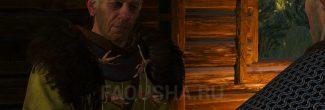 """Беседа с ворожеем о причинах появления игоши в задании """"Дела семейные"""" в """"Ведьмаке 3"""""""