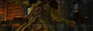 """Ворожба на Анну и Тамару в хате ворожея в Больших сучьях в задании """"Дела семейные"""" в """"Ведьмаке 3"""""""