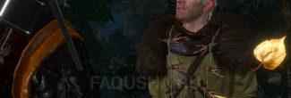 """Встреча с ворожеем перед хатой Кейры Мец в Подлесье в задании """"Дяды"""" в """"Ведьмаке 3"""""""