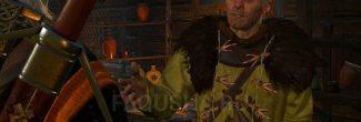 """Рассказ ворожея об отце у себя в хате в Больших сучьях в задании """"Дяды"""" в """"Ведьмаке 3"""""""