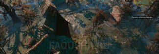 """Места, где прячутся дети, в Приюте на Кривоуховых топях в задании """"Хозяйки леса"""" в """"Ведьмаке 3"""""""