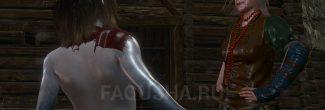 """Ивасик и бабушка в Приюте на Кривоуховых топях в задании """"Хозяйки леса"""" в """"Ведьмаке 3"""""""