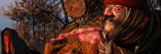"""Встреча с ведьмами в Приюте на Кривоуховых топях в задании """"Хозяйки леса"""" в """"Ведьмаке 3"""""""
