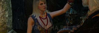 """Нахождение магического светильника вместе с Кейрой Мец в гробнице Лары Доррен в """"Ведьмаке 3"""""""