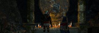 """Гробница Лары Доррен в эльфийских руинах в задании """"Магический светильник"""" в """"Ведьмаке 3"""""""
