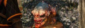 """Встреча со скальным троллем в Форте Белого Орла в задании """"Доброволец"""" в """"Ведьмаке 3"""""""