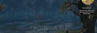 """Расположение костей духа в задании """"Шепчущий холм"""" в """"Ведьмаке 3"""""""