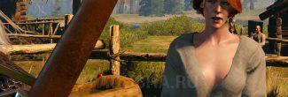 """Беседа с Гленной из Больших сучьев о пропавшей Ганне в задании """"Дикое сердце"""" в """"Ведьмаке 3"""""""