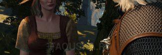 """Встреча с Маргаритой в лесу Больших сучьев в задании """"Дикое сердце"""" в """"Ведьмаке 3"""""""
