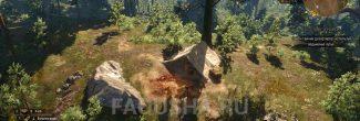 Местоположение ящика с запиской в задании 'Золото дезертиров' в 'Ведьмаке 3'