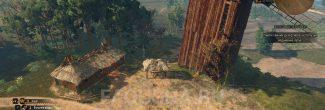 Расположение домика с тайником в задании 'Золото дезертиров' в 'Ведьмаке 3'