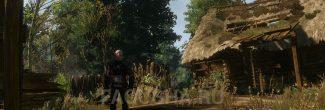 Останки убитой женщины в Покинутой деревне в задании 'Лихо у колодца' в 'Ведьмаке 3'