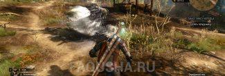 Появление полуденницы в Покинутой деревне в задании 'Лихо у колодца' в 'Ведьмаке 3'