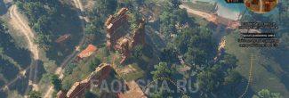 Местоположение чертежа стального меча Школы Змеи в руинах замка у Сожженой деревни в задании 'Ведьмачьи древности: Снаряжение школы Змеи' в 'Ведьмаке 3'